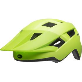Bell Spark Kask rowerowy Dzieci, matte bright green/black
